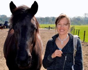 Josselien Janssens, Trainer-Coach & paard Raya - bewerkt - kopie